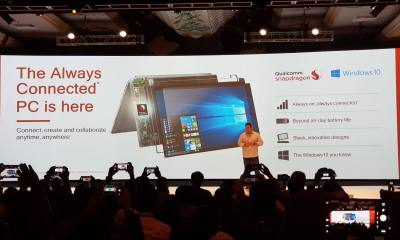 40 - Qualcomm Summit: ASUS e HP apresentam notebooks com Snapdragon 835