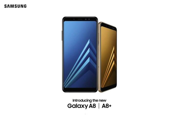 Samsung apresenta Galaxy A8 e A8+ com tela infinita e câmera dupla 8