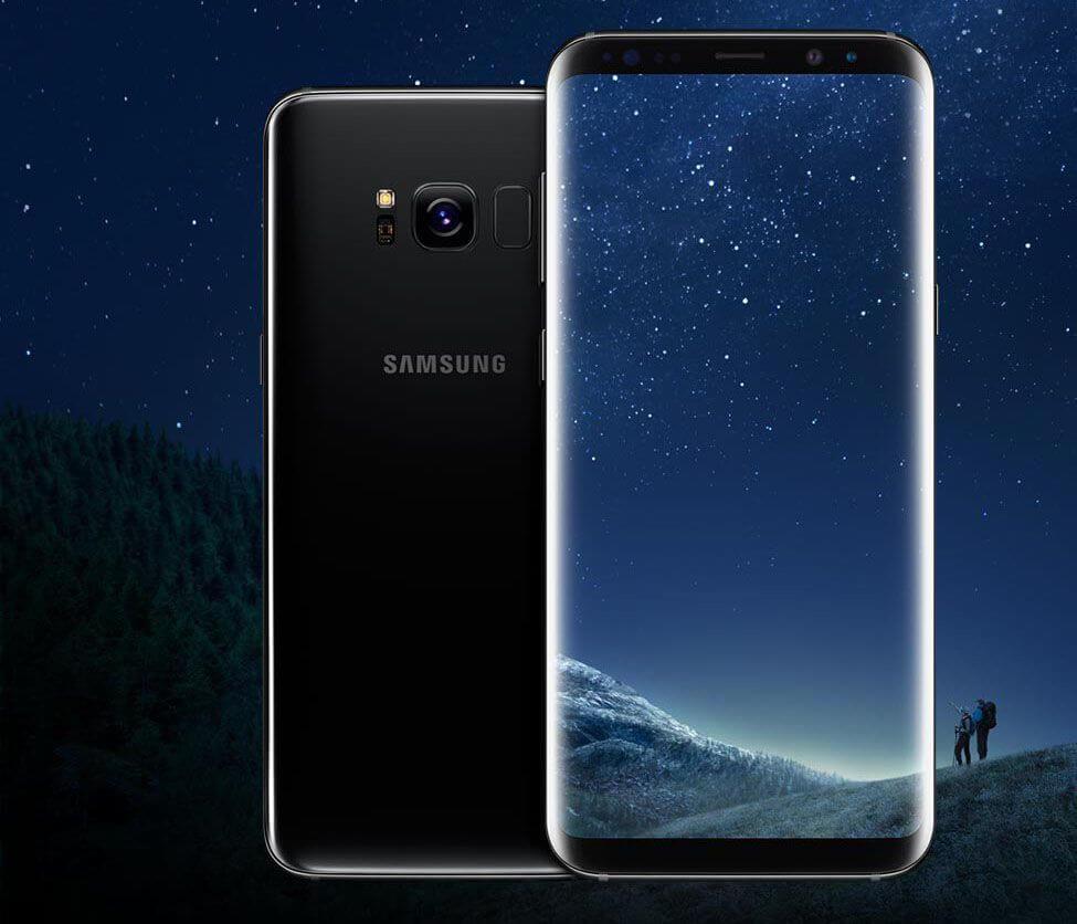 Samsung Galaxy S8 black - Confira os melhores smartphones top de linha para comprar no Natal
