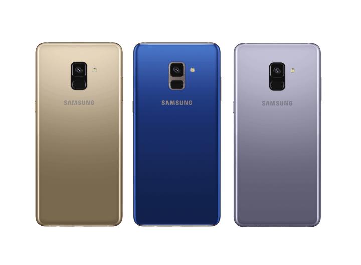 Samsung apresenta Galaxy A8 e A8+ com tela infinita e câmera dupla 5