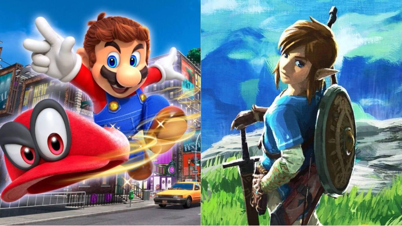 Super Mario Odyssey and Breath of the Wild - Por que o Nintendo Switch é o videogame do ano