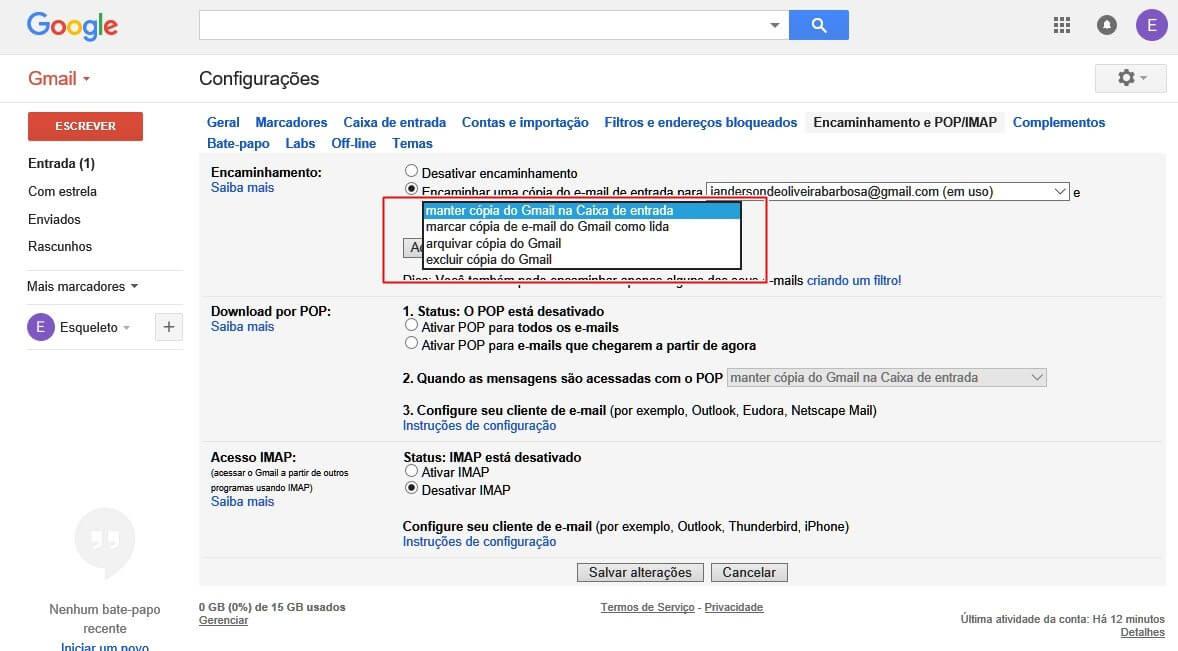 Como combinar duas ou mais contas do Gmail