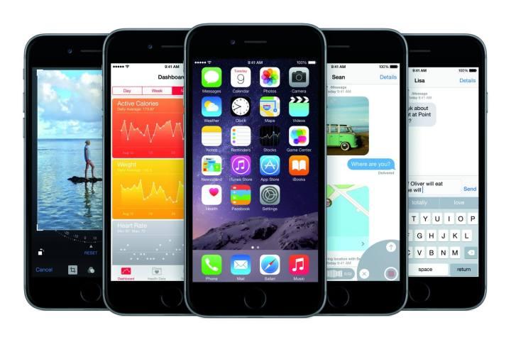 iPhone6 PF SpGry 5 Up iOS8 PRINT 720x482 - 7 sinais de que a Apple deixou seu iPhone mais lento