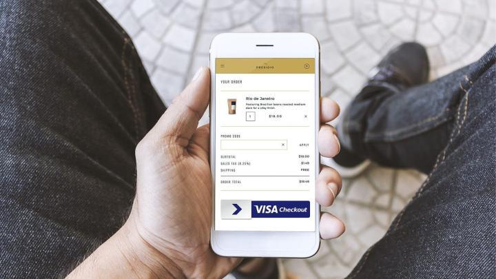 Agora, além das opções de boleto e cartão de crédito, o pagamento das taxas de importação nos Correios pode ser feito via Visa Checkout