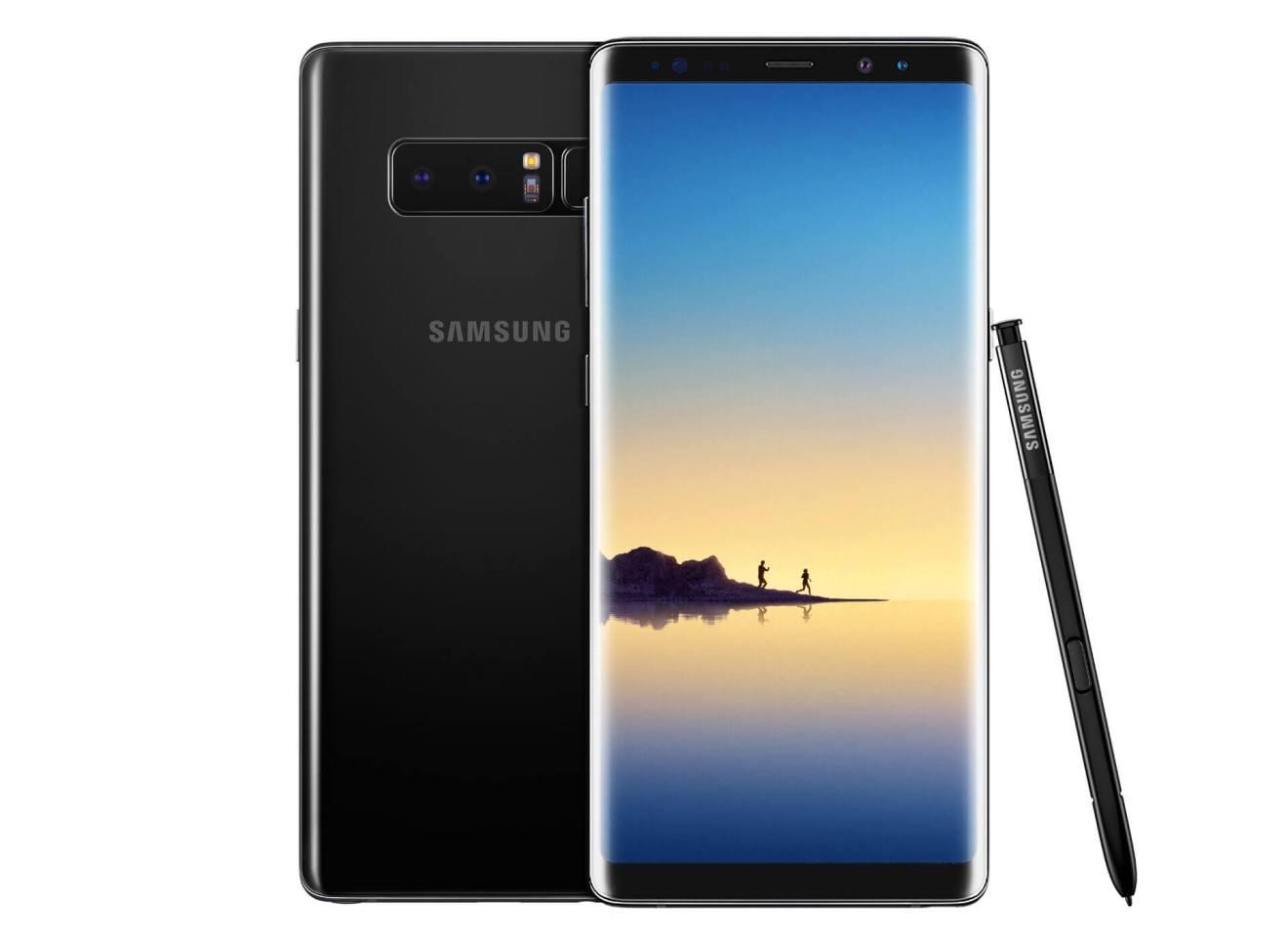 samsung galaxy note 8 hero e1513796594549 - Confira os melhores smartphones top de linha para comprar no Natal
