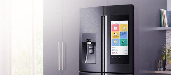 311821 - CES 2018: LG apresenta refrigerador ThinQ com tela de 29 polegadas