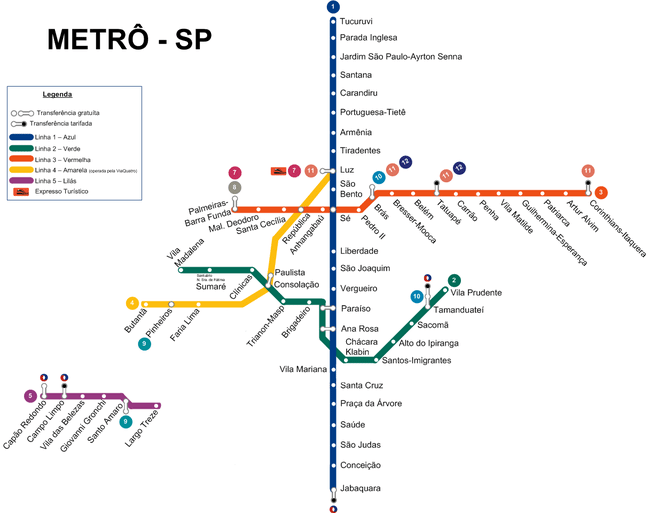 650px Metrô SP - Campus Party 2018: Saiba como chegar ao evento de forma fácil