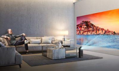 LG 4K UHD Projector HU80K 0 1024x576 - CES 2018: LG anuncia projetor compacto e com resolução 4K