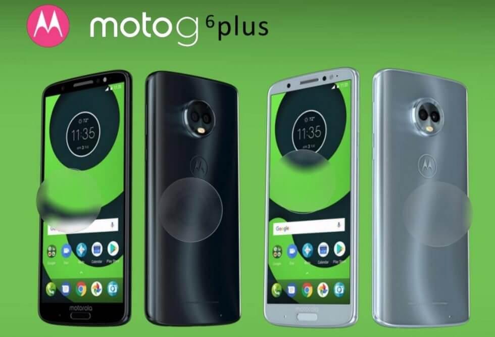 Vazamentos da Motorola revelam as especificações do Moto G6, Moto X5 e Moto Z3 7