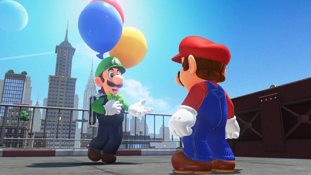 SuperMarioOdyssey Luigi DLC scrn 09 1280 - Nintendo Direct Mini revelou muitas surpresas e novidades para o Switch