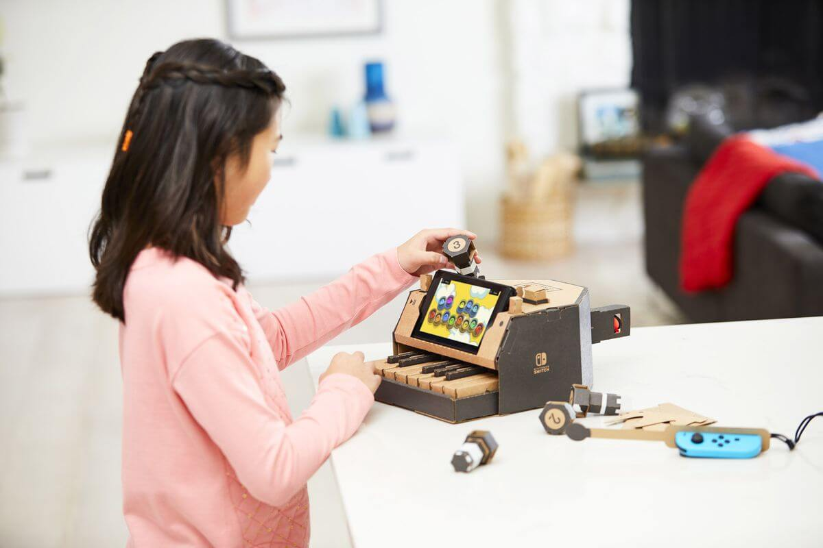Switch NintendoLabo photo 04.1516225437 - Nintendo Labo é a nova forma de brincar e interagir com o Switch