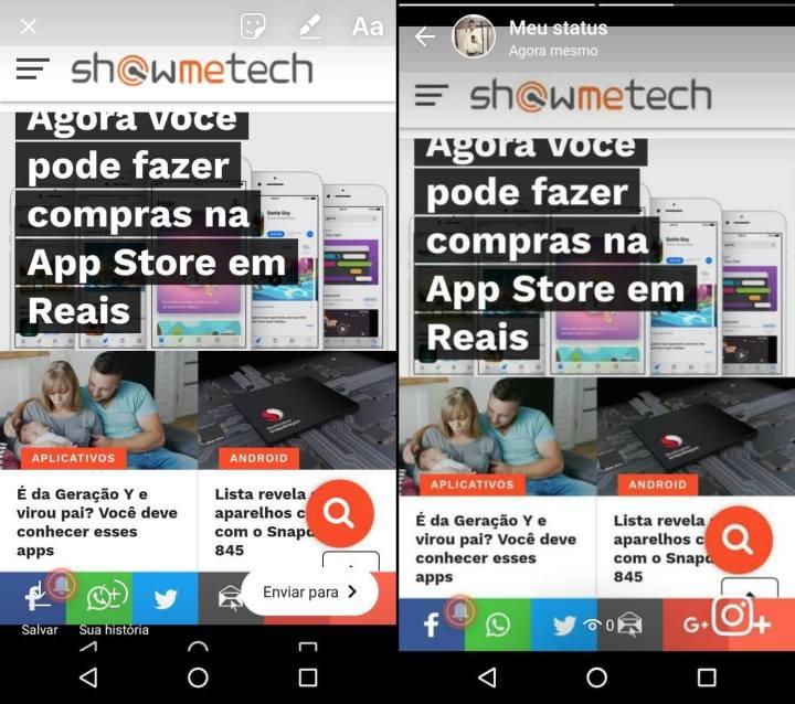 WhatsApp Image 2018 01 04 at 12.26 horz 720x638 - Instagram Stories em breve também serão compartilhados no WhatsApp Status