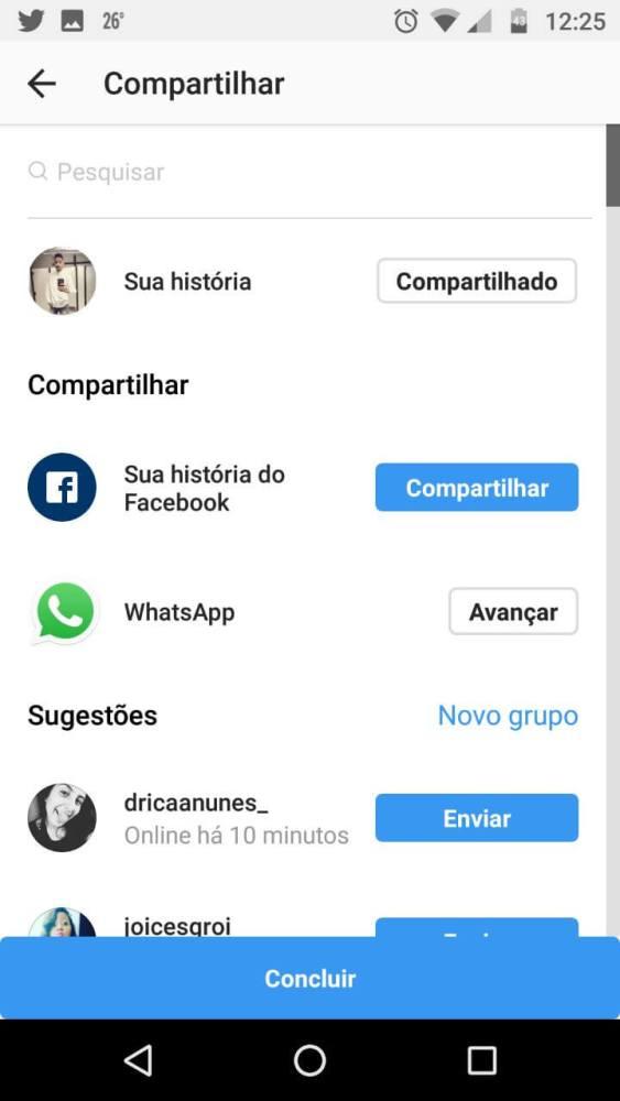 Instagram Stories WhatsApp Status
