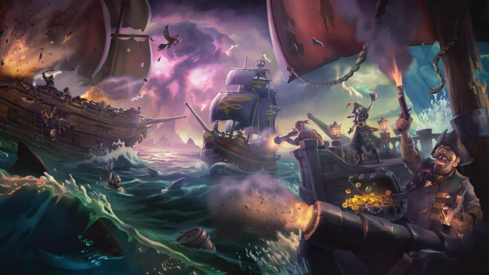 sea of thieves e3 2017 2 - Próximos exclusivos Microsoft entrarão no Xbox Game Pass no lançamento