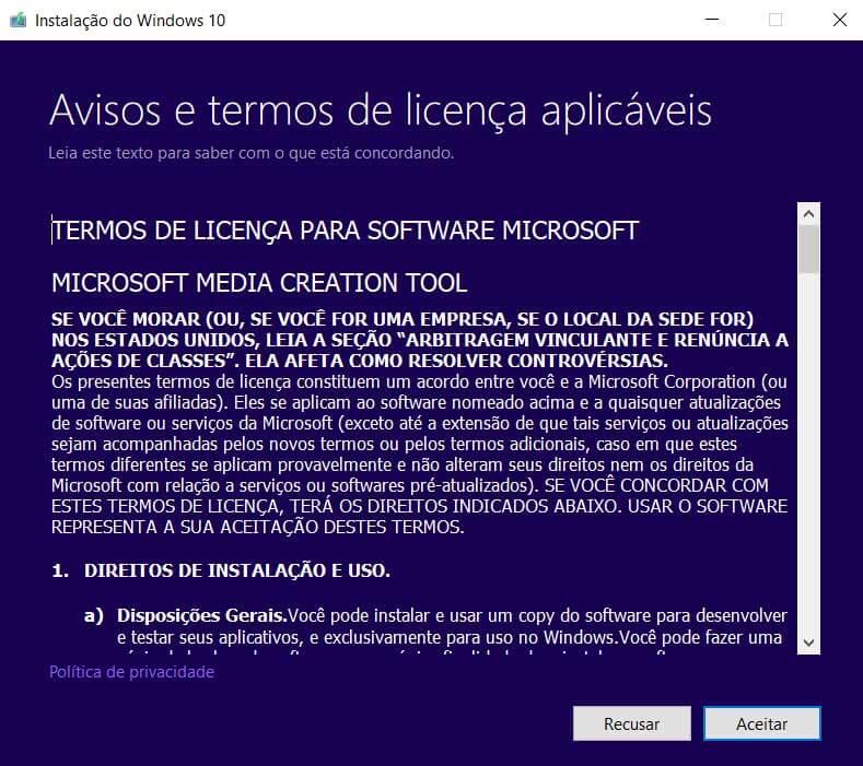 02 - Confira como fazer a instalação do Windows 10 a partir de um pendrive