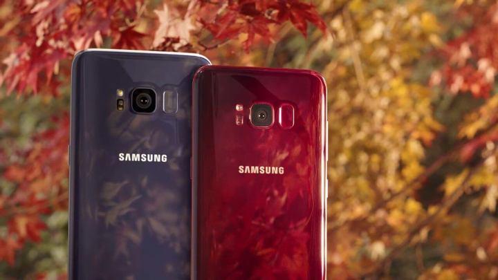 Samsung Galaxy S8 Burgundy Red 720x405 - Samsung Galaxy S8 começa a ser atualizado para o Android 8.0 Oreo