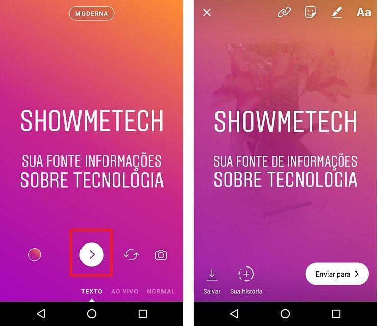 Novo modo do Instagram Stories vai deixar seus textos mais estilosos