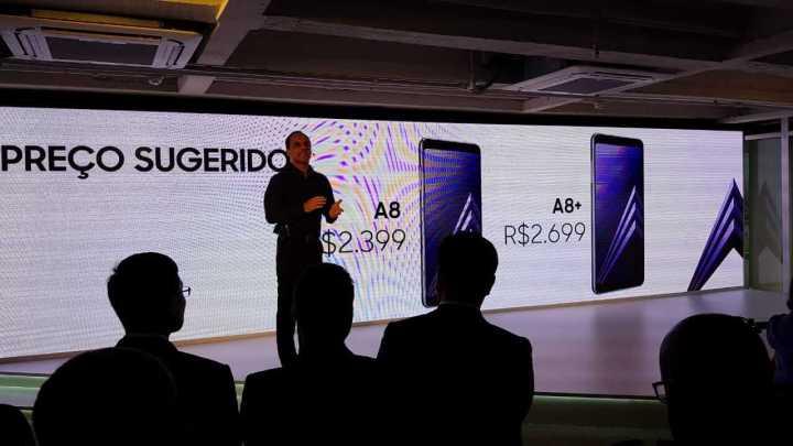 Galaxy A8 e A8 +