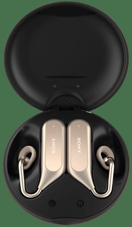 gold - MWC 2018: Xperia Ear Duo é o novo fone inteligente e sem fios da Sony
