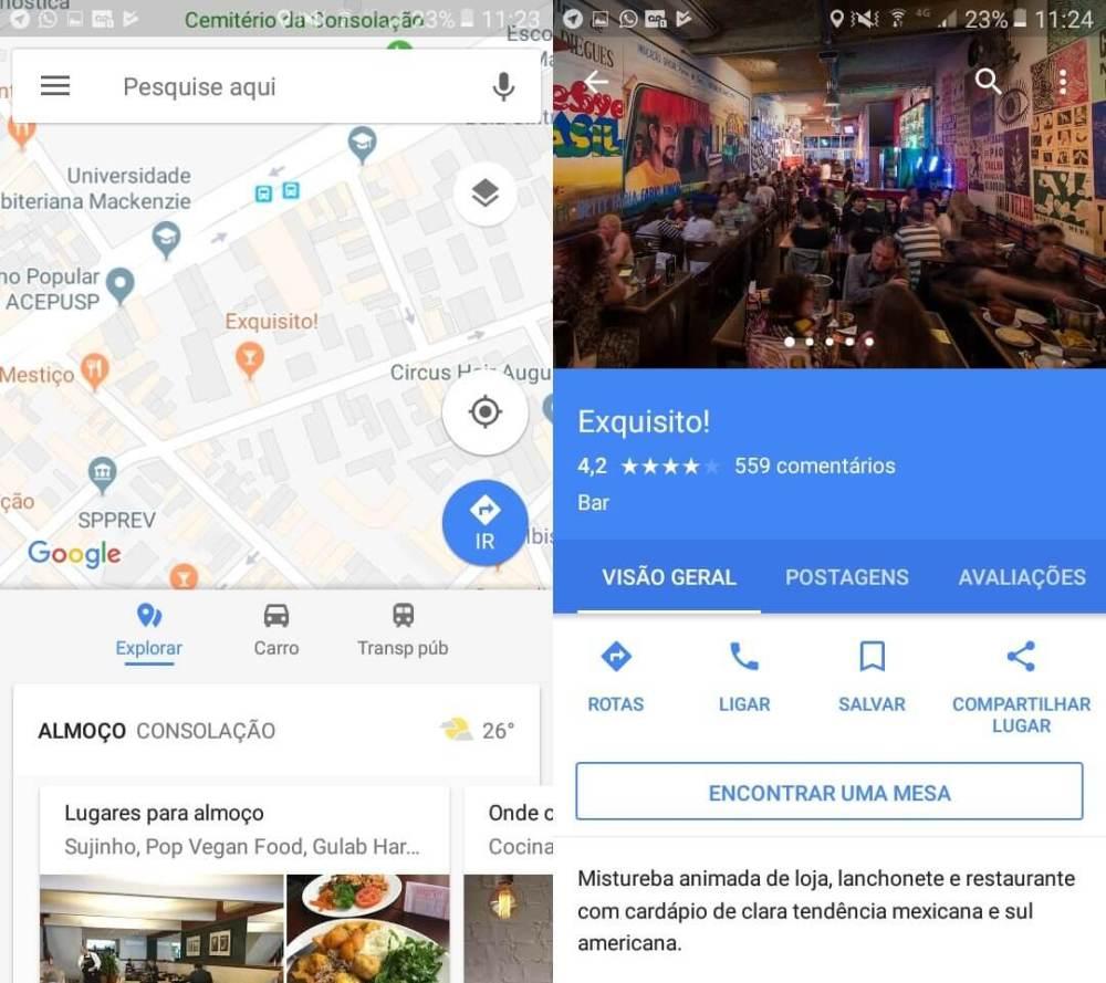reserva google maps 01 - Tutorial: como reservar mesas de restaurantes direto no Google Maps