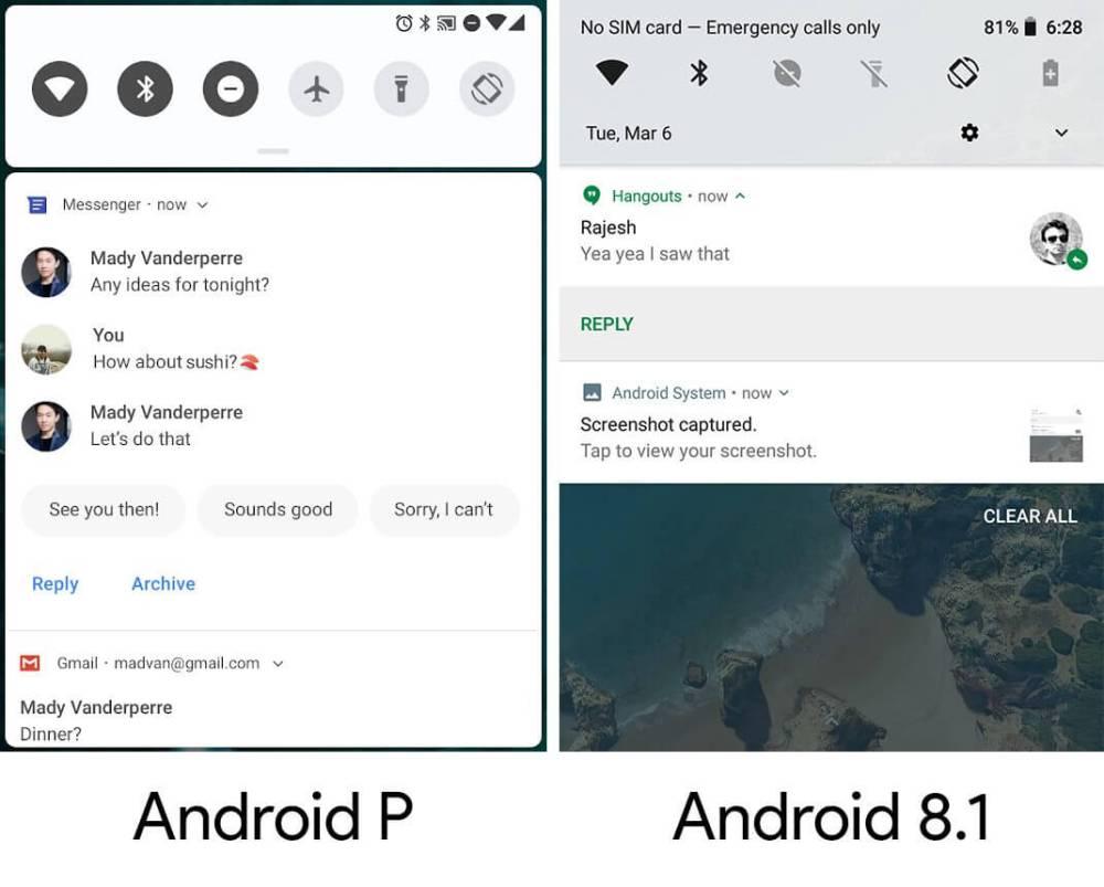 1 1 - Conheça todas as novidades do Android P Developer Preview