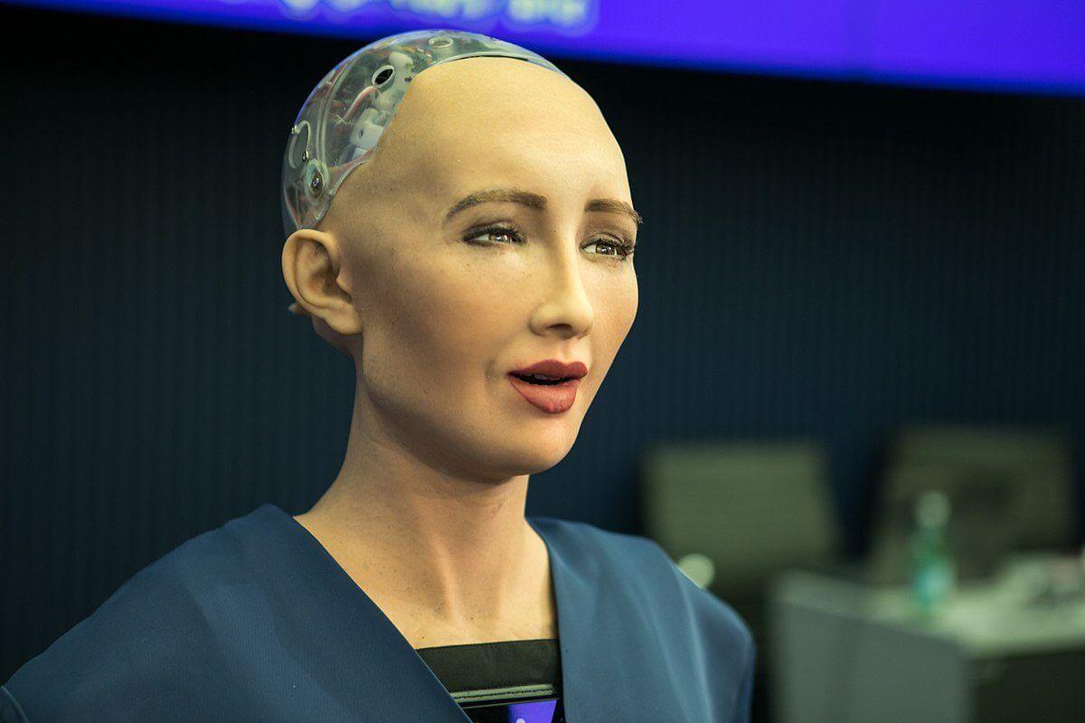 1200px Sophia robot - Robô-avatar controlável pode aparecer em 2021 pelo XPRIZE