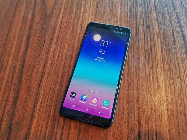 20180323 151907 01 720x540 - Review Samsung Galaxy A8 - O primeiro intermediário com tela infinita
