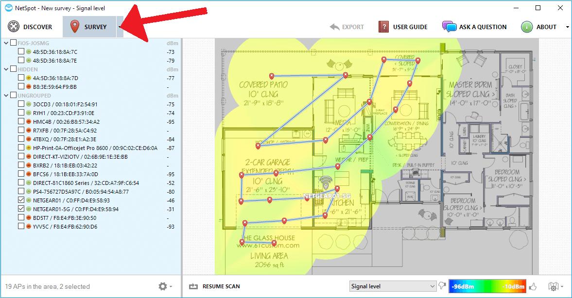 NetSpot: melhore o sinal de Wi-Fi da sua casa ou ambiente de trabalho 12