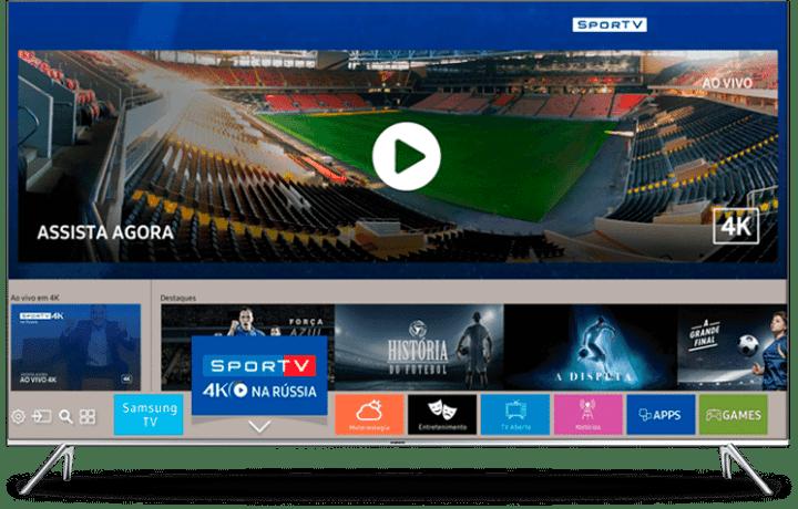 Samsung SporTV 4K 01 720x460 - Como assistir à Copa do Mundo em 4K
