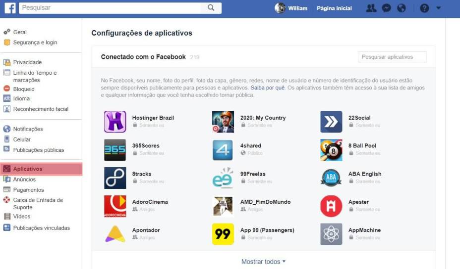 facebook 4 - Como garantir que o Facebook não distribua seus dados