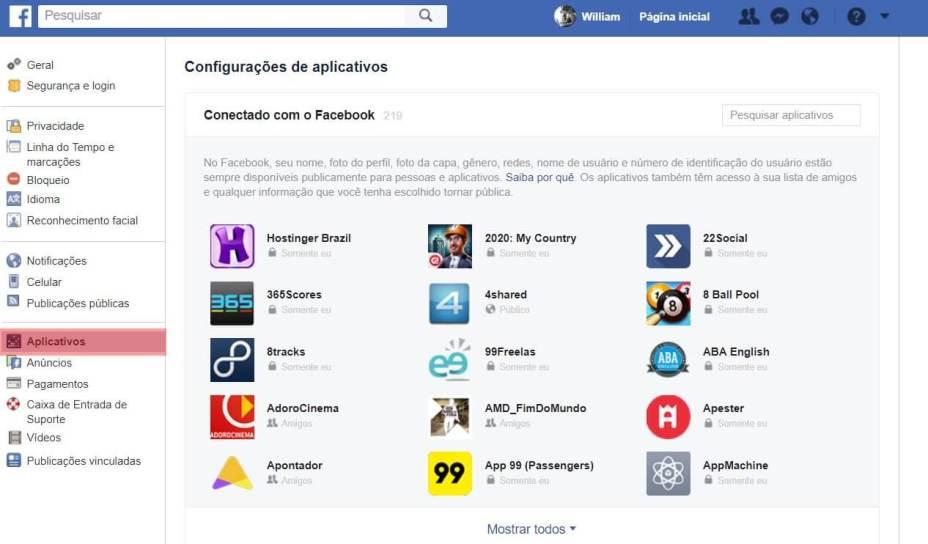 Como garantir que o Facebook não distribua seus dados 11