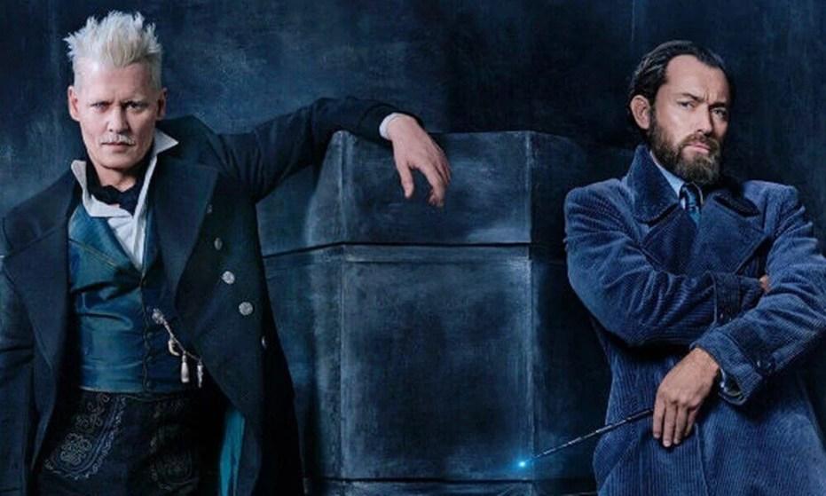 fantastic beasts 2 johnny depp jude law - Primeiro trailer de Animais Fantásticos: Os Crimes de Grindelwald é lançado!