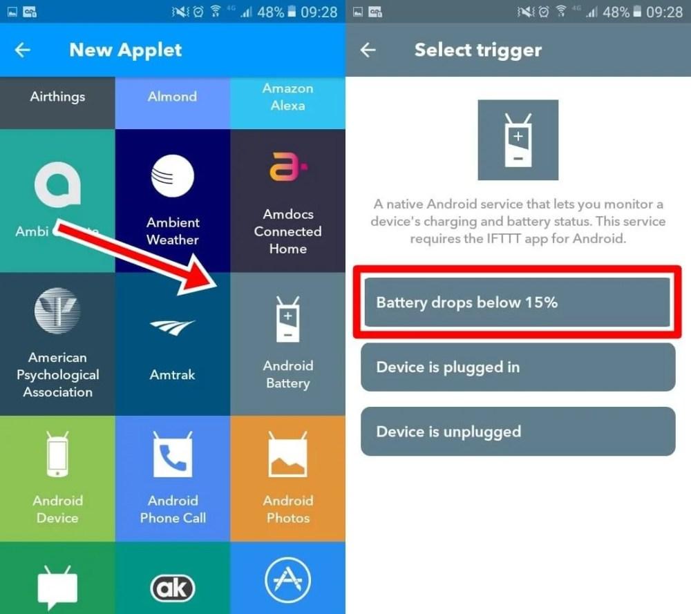 iftt03 a 1 - IFTTT: Como desligar o Wi-Fi do Android automaticamente quando a bateria estiver fraca