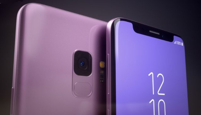 Assim seria o Galaxy S9 se ele tivesse o notch do iPhone X 7