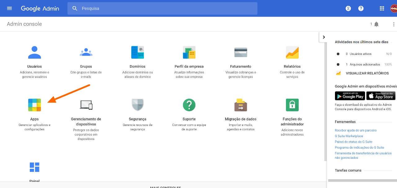 1 4 - Como ativar o novo visual do Gmail corporativo (G Suite)