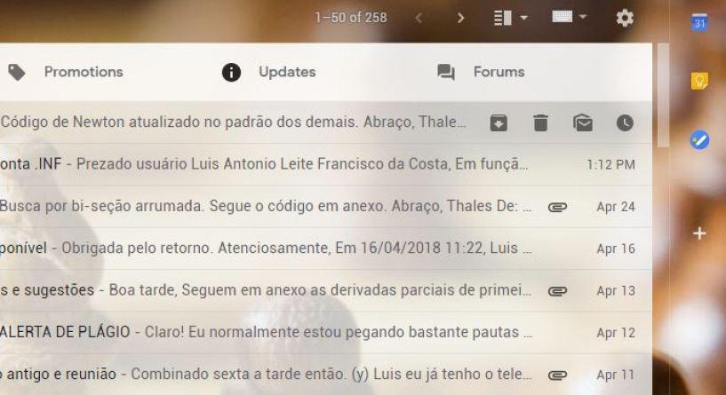 Confira todas as atualizações por trás do novo design do Gmail 4