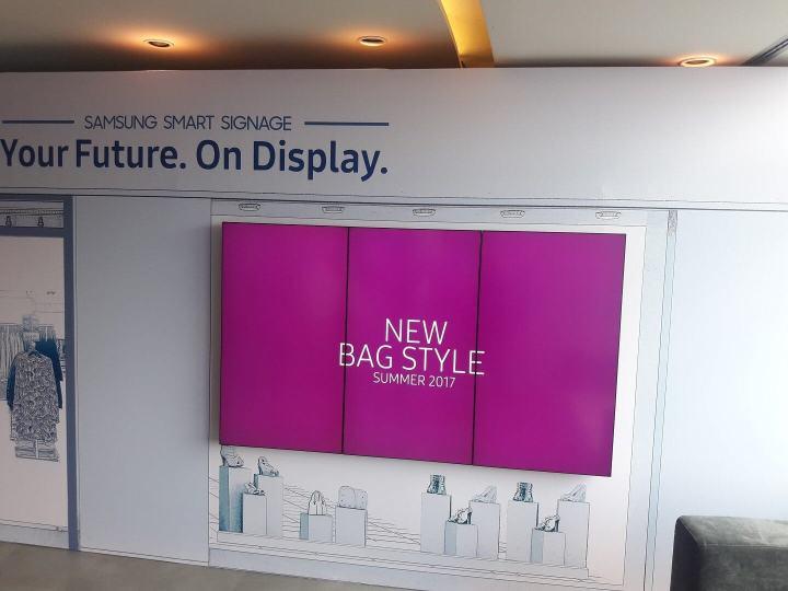 Samsung reforça a linha de produtos Digital Signage no Brasil 7