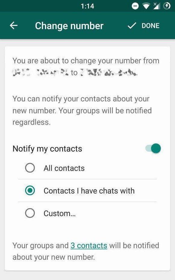 WhatsApp está trazendo novo recurso para quem vai trocar de número 8