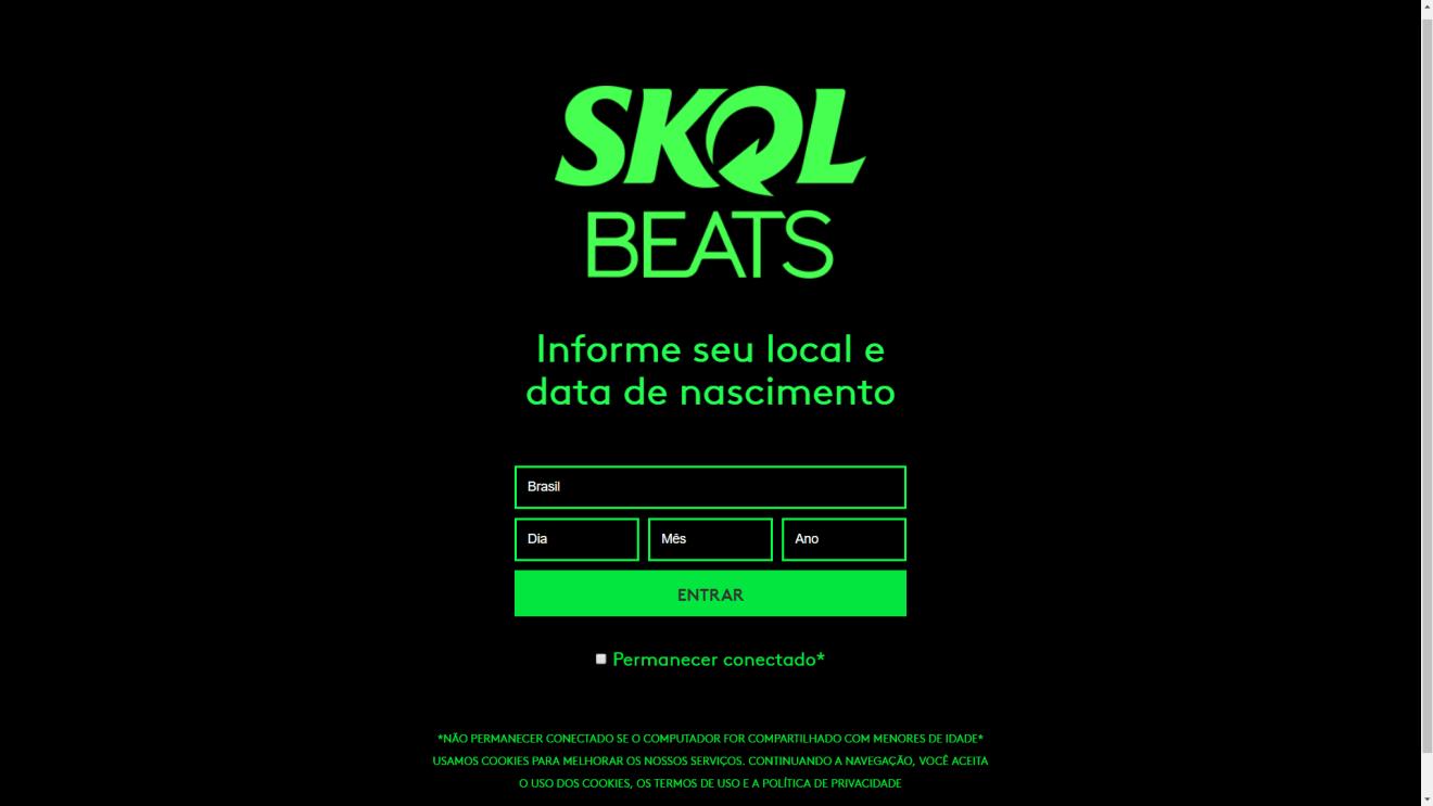 Captura de Tela 254 - Smart Beats é um assistente pessoal criado pela Skol. Entenda