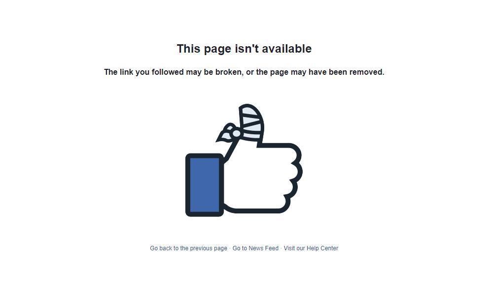 Sem título - Facebook decide remover do ar duas páginas de apoio a Jair Bolsonaro