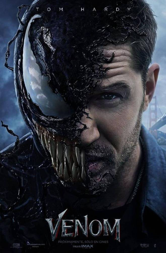 Venom 659x1000 - Filme do Venom recebe novo trailer com visual do personagem