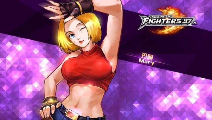 blue mary   kof 97 720x409 - The King of Fighters XIV terá Blue Mary como personagem em DLC