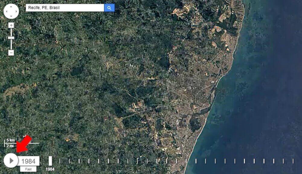 Confira as mudanças em sua cidade com o Google Earth 7