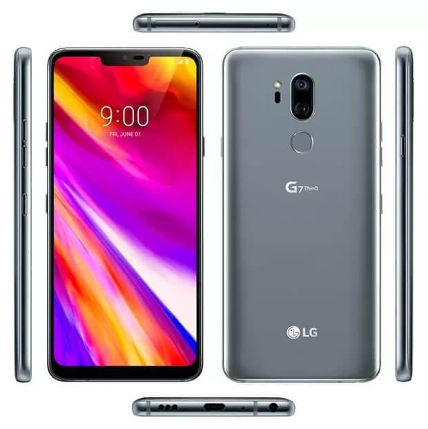 Com direito a notch: imagem revela o design do LG G7 ThinQ 4