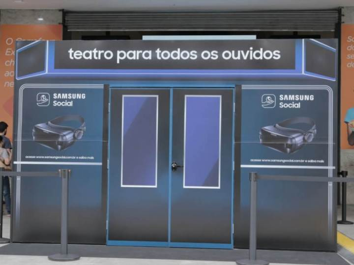 Samsung traz nova temporada do projeto Teatro Para Todos os Ouvidos 4