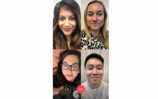 chamada - Chamadas de vídeo em grupo chegarão ao WhatsApp e Instagram
