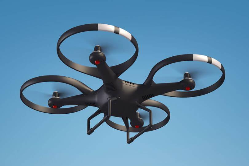 drone - Criminosos utilizam drones para atrapalhar operação de resgate do FBI
