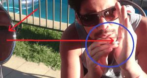Cómo encenderse un cigarro sin mechero con la ayuda del sol