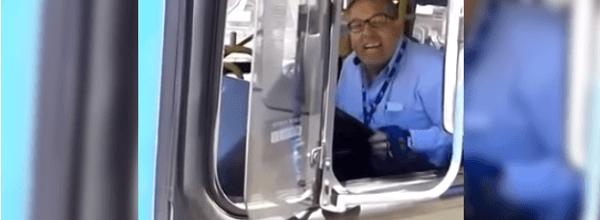 Conductor autobus la lia parda