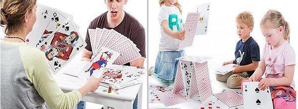 Baraja de cartas gigante ¡El mejor juego de mesa!